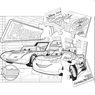 Disney Cars Giant Party Activity Puzzle