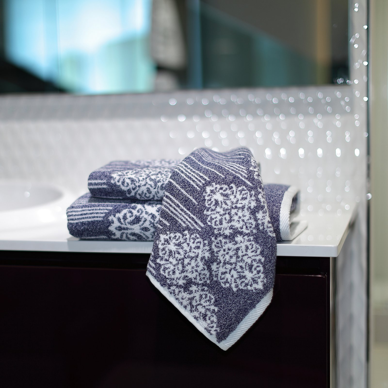 Linum Home Gioia 3 Piece Towel Set
