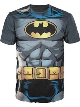 4fc60dee4e8f8 Product Image Batman Muscle Costume With Logo Charcoal Adult T-Shirt
