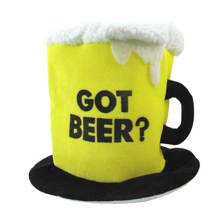 Got Beer Drinking Hat Bachelor Party Gag Gift Costume Accessory - Drink Costumes
