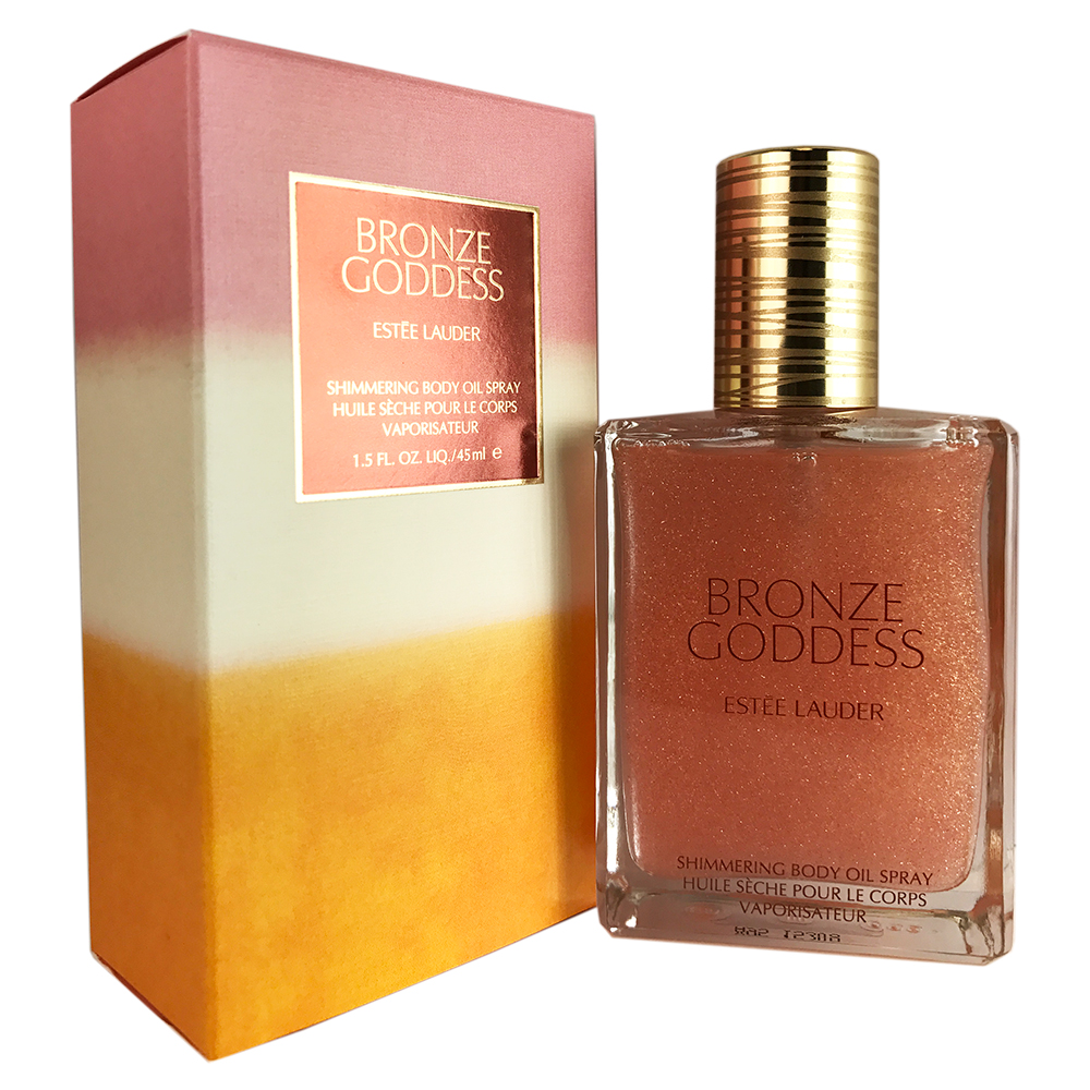 Estee Lauder Bronze Goddess Shimmering Body Oil Sp. 1.5 oz - Walmart.com