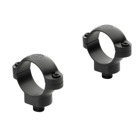 Leupold Quick Release 30mm Rings High Black