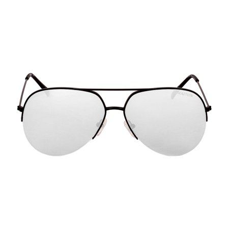 Kenneth Cole Reaction Metal Frame Smoke Mirror Lens Men's Sunglasses (Oakley Sunglasses Sale)