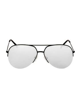 Kenneth Cole Reaction Metal Frame Smoke Mirror Lens Men's Sunglasses KC13076102C