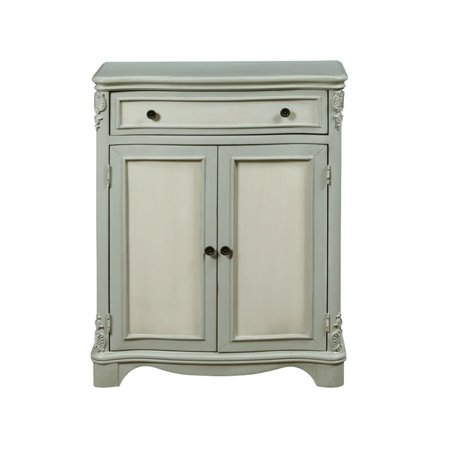 Pulaski Accentrics Home Weathered Two Tone Accent Chest in - Pulaski Bedroom Cabinet