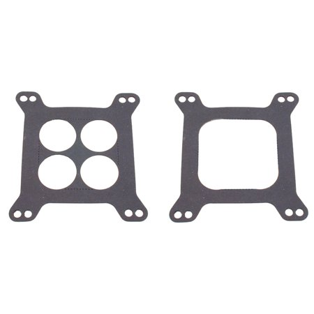 Spectre Industries 469 Carburetor Mounting Gasket For Holley/ Carter 4BBL/  Edelbrock 4 Hole Or Open Center Manifolds