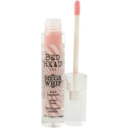 TIGI for Women Bed Head Luxe Lipgloss, Mega Whip, 0.11 (Tigi Chocolate Lip Gloss)