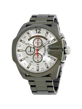 9d6b26dca Product Image Diesel Mega Chief Chronograph Olive Ion Plated Men's Watch  DZ4478