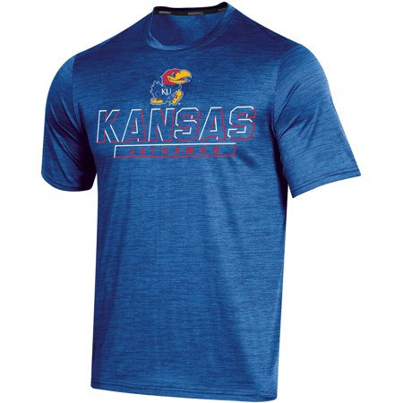 Men's Russell Athletic Royal Kansas Jayhawks Synthetic Impact T-Shirt (Kansas Jayhawks Apparel)