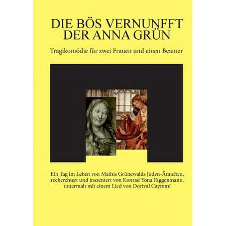 Die Bos Vernunfft Der Anna Grun (Grün Nerd-brille)