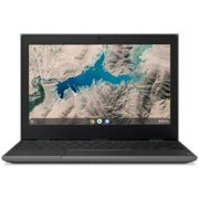 "Lenovo 100e Chromebook 11.6"" HD Display, Mediatek MT8173C, 4GB DDR3, 16GB eMMC, Chrome OS, Black"