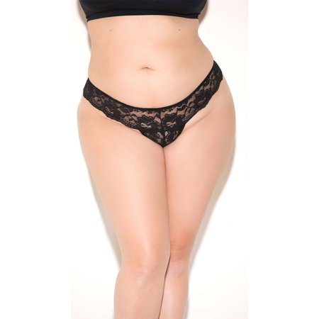 Plus Size Lace Bow Back (Bow Back Lace)