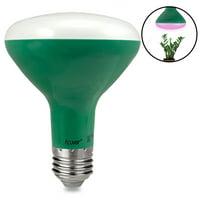 Acuvar BR30 9W E26 LED Grow Light Bulb Hydroponic Full Spectrum Enriched Ideal for Budding, Flowering & Vegetative Growth