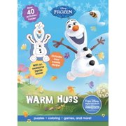 Activity Book with Eraser: Disney Frozen Warm Hugs: Puzzles, Coloring, Games, and More! (Paperback)