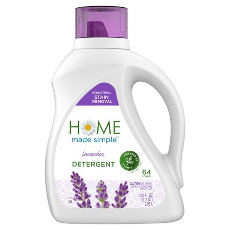 Home Made Simple Liquid Laundry Detergent, Lavender, 64 Loads, 100 fluid