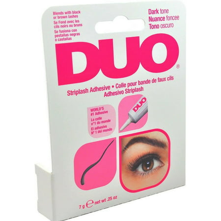 Duo Water Proof Eyelash Adhesive, Dark Tone 1/4