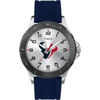 Timex - NFL Tribute Collection Gamer Blue Men's Watch, Houston Texans