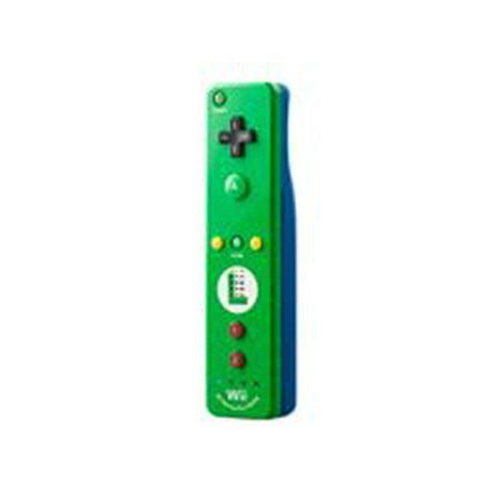 NINTENDO Wii Remote Plus Luigi - Remote - wireless - for Nintendo Wii, Nintendo Wii -