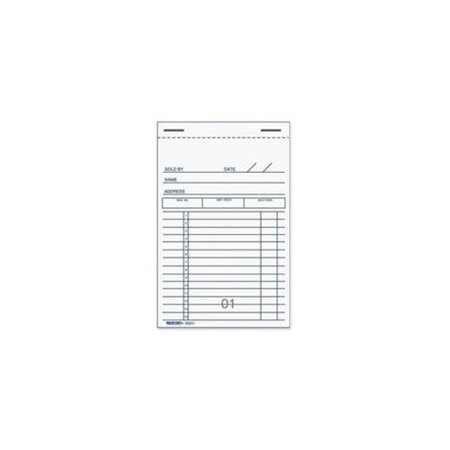 "Rediform Sales Receipt Books - 50 Sheet(s) - 2 Part - Carbon Copy - 5"" x 3.37"" Sheet Size - Recycled - 1 Each"