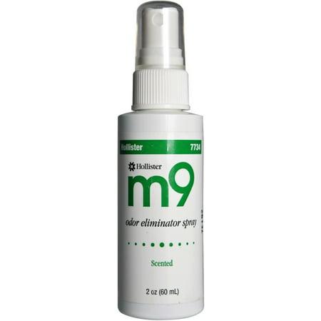 Scent Eliminator Spray Liquid - m9 Odor Eliminator Spray, Scented  2 oz