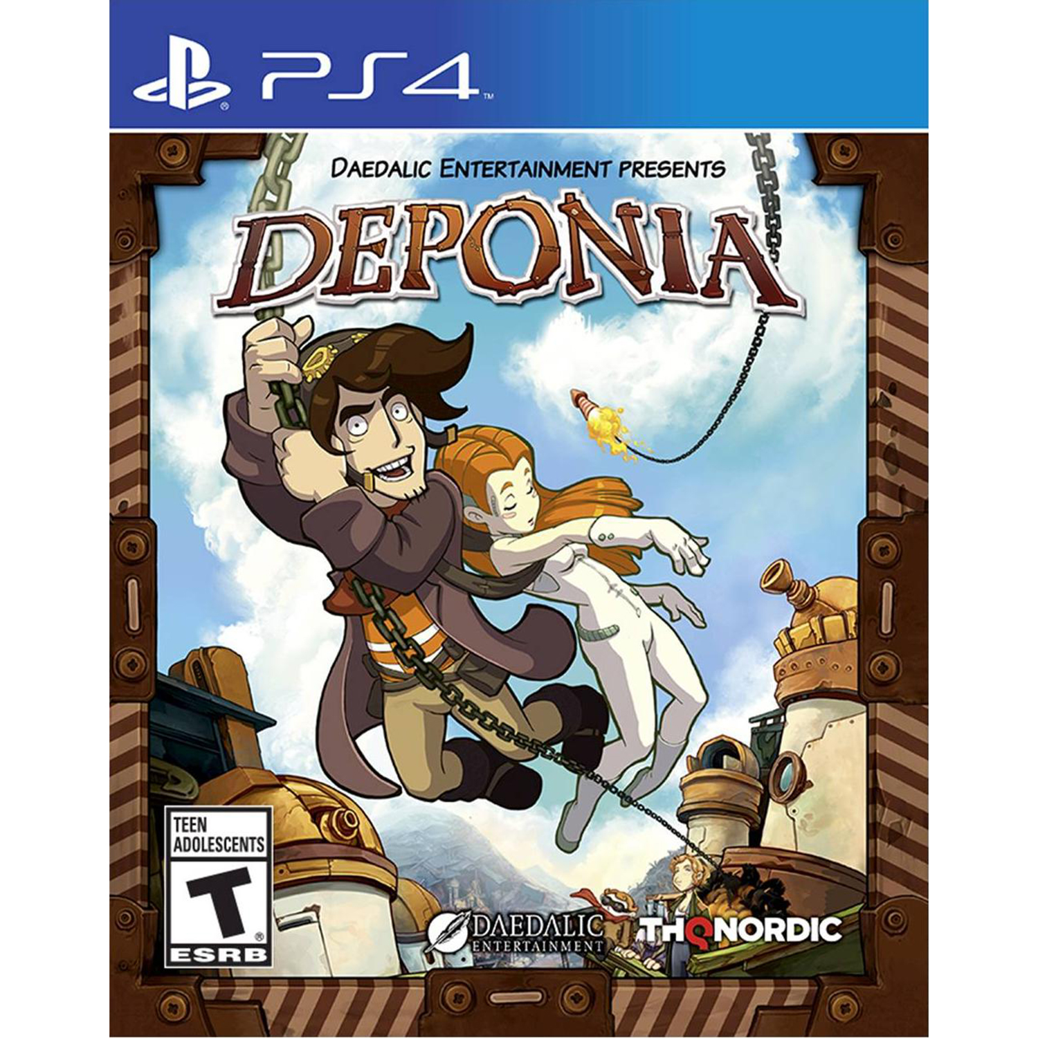 Sony PlayStation 4 Deponia Video Game