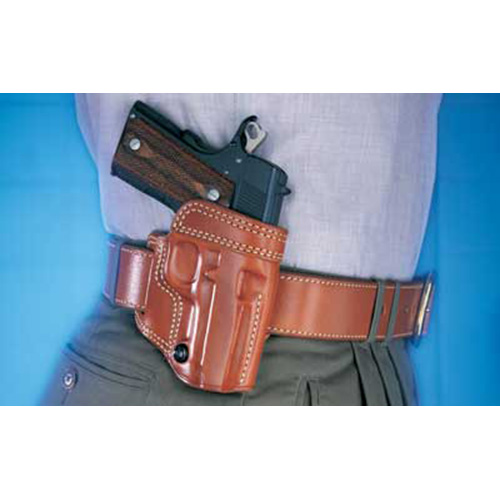 """Galco Avenger Belt Holster, Fits 1911 with 3"""" Barrel, Right Hand, Tan Leather"""