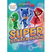 PJ Masks Super Sticker Book (Paperback)