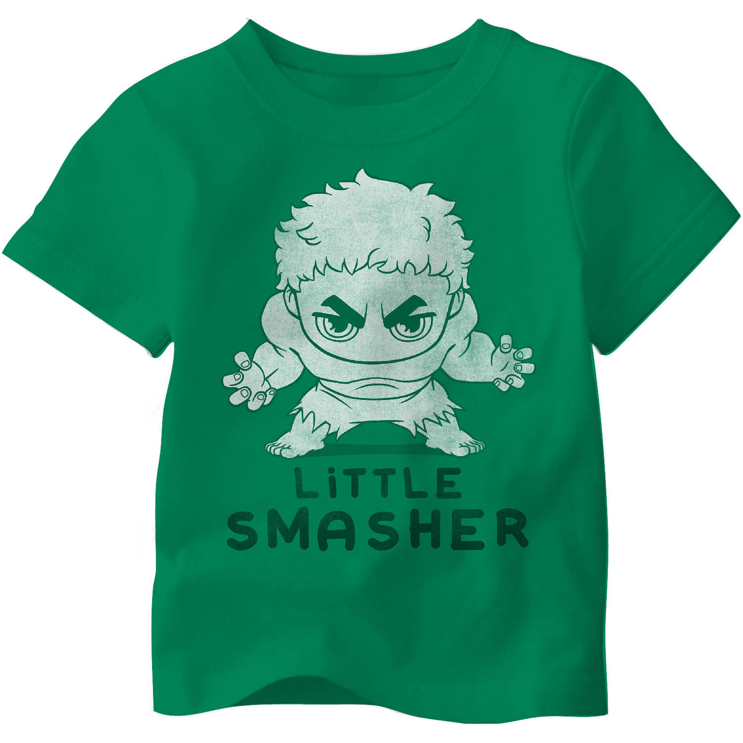 Avengers Toddler Boy Little Smasher Hulk Tee Shirt