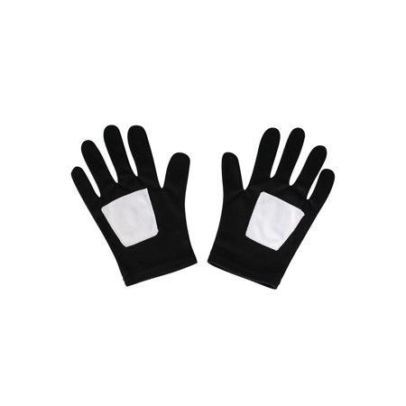 Spider-Man Black Child Gloves - Black Spiderman Gloves