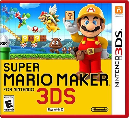 Super Mario Maker, Nintendo, Nintendo 3DS, 045496744472