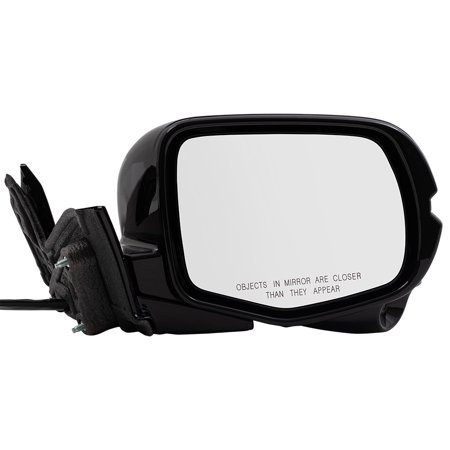 Honda Side View Mirrors - BROCK Passengers Power Side View Mirror for 2016-2018 Honda Pilot Right Signal Memory Camera Manual Folding 76200TG8A11ZD 76200-TG8-A11ZD
