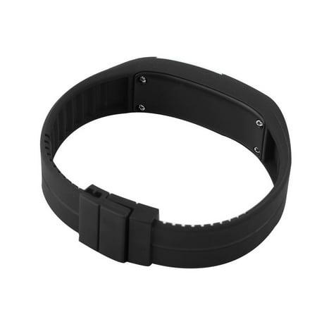 Men Women New Fashion LED Luminous Touch Silicone Bracelet Digital Wrist Watch - image 5 of 8