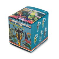 Kidrobot Transformers Vs G.I. Joe Blind Box Vinyl Figure Keychain