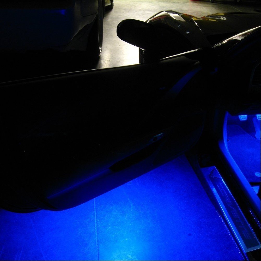 Corvette Under Door/Puddle LED Lighting Kit : C7 Stingray, Z51, Z06 (Yellow)