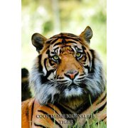 Cool Image Journal #18: Tiger (Lined Pages): 200 Page Journal