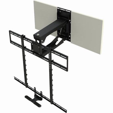 MantelMount Pro Series MM700 Above Fireplace Pull Down Wall Mount for Greater Than 50'' Screens ()