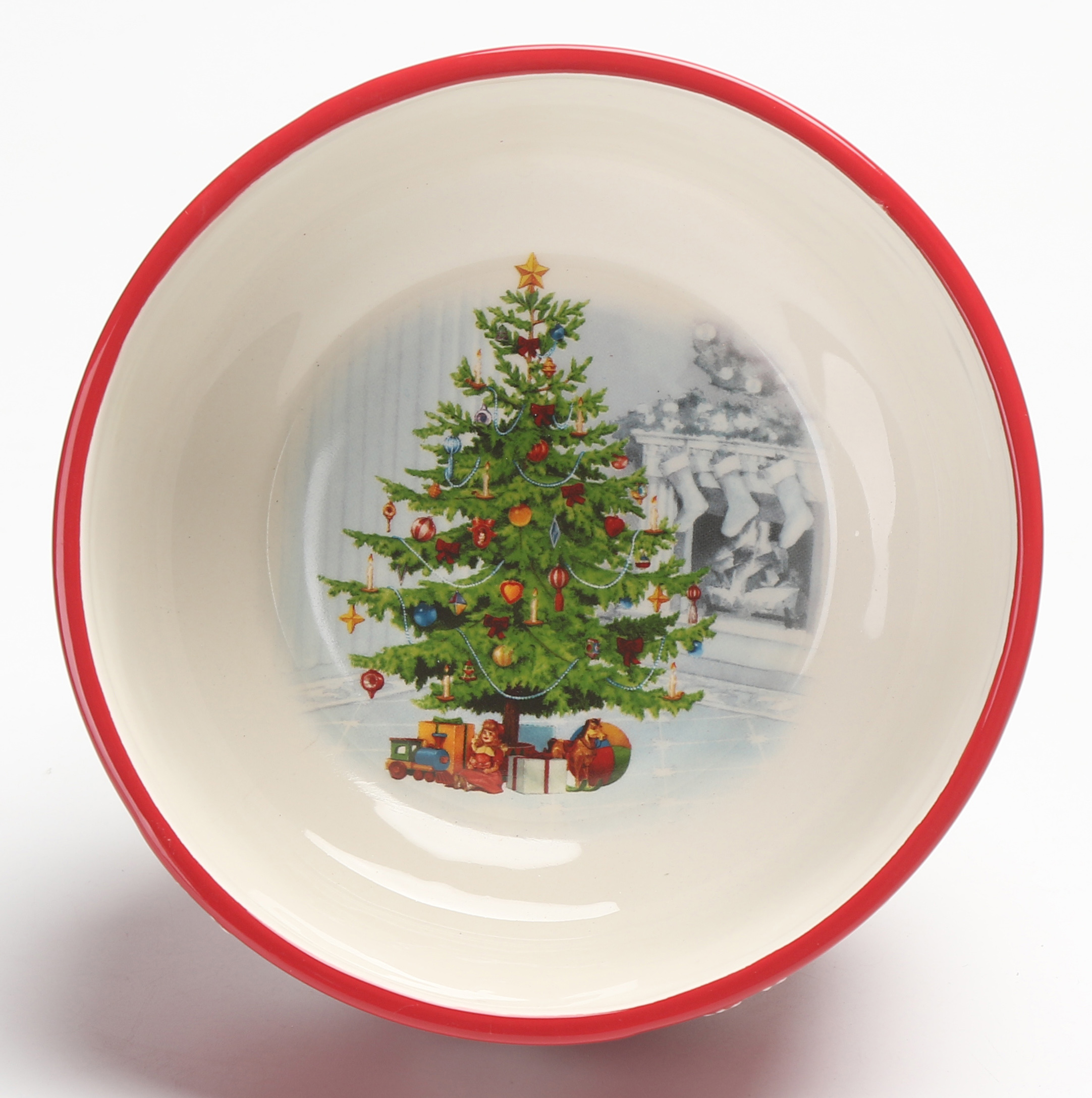 Holiday Time Tree Bowl
