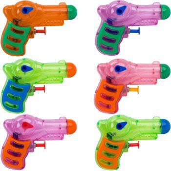 12 Neon Grip Squirt Guns by Fun Express