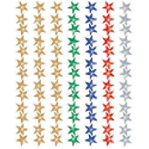 "School Smart Jumbo Foil Self-Stick Star Stickers, 0.5"", Pack of 4116"