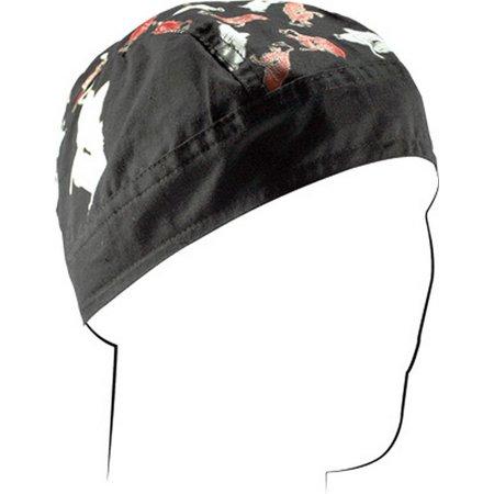 Zan Headgear Flydanna Headwrap Angel/Devil Pin-up](Halloween Angel And Devil Dress Up Games)