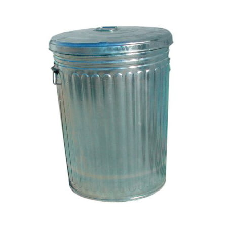 20 Gallon Galvanized Trash Can With Lid Walmartcom