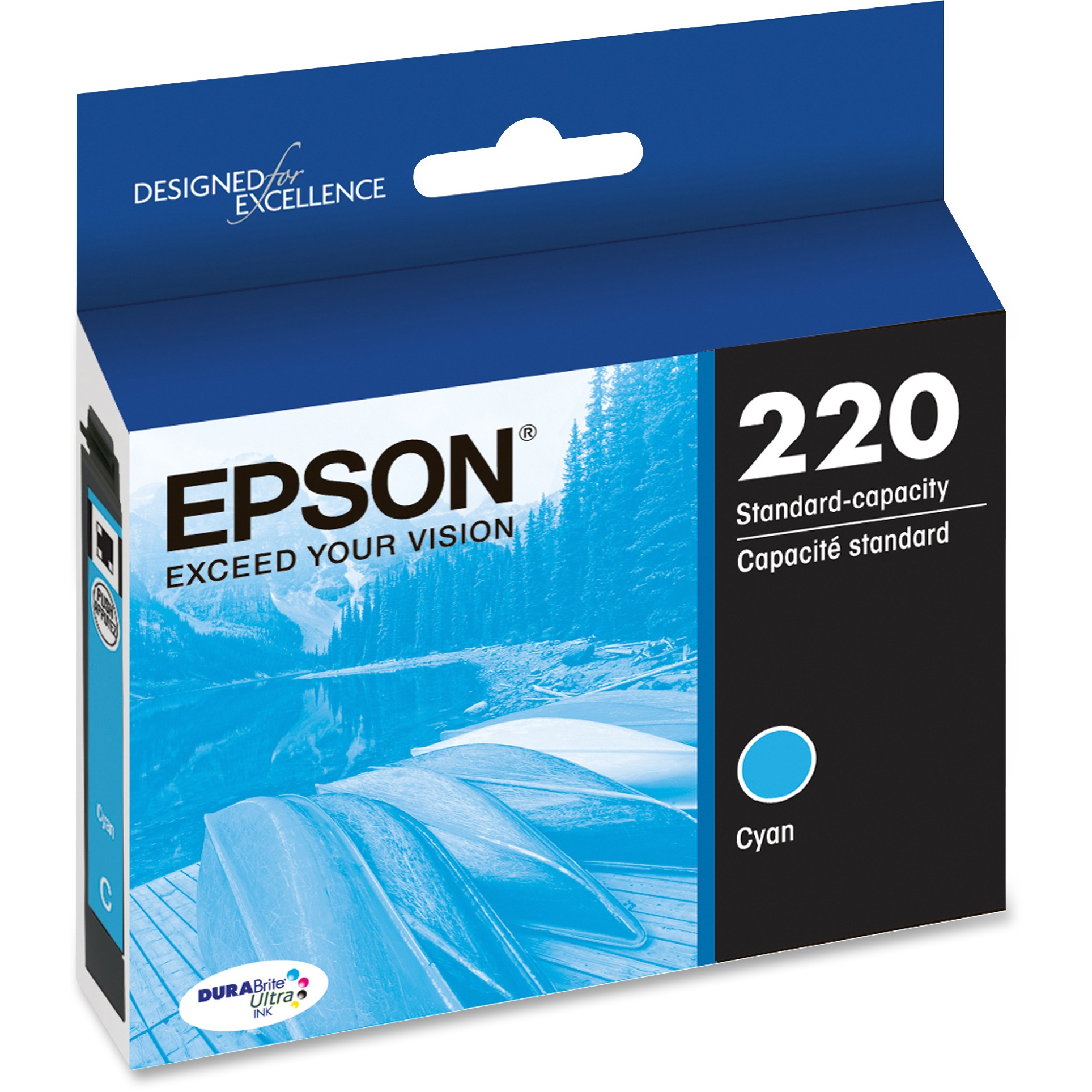 Epson 220 DURABrite Ultra Ink Original Cyan Ink Cartridge