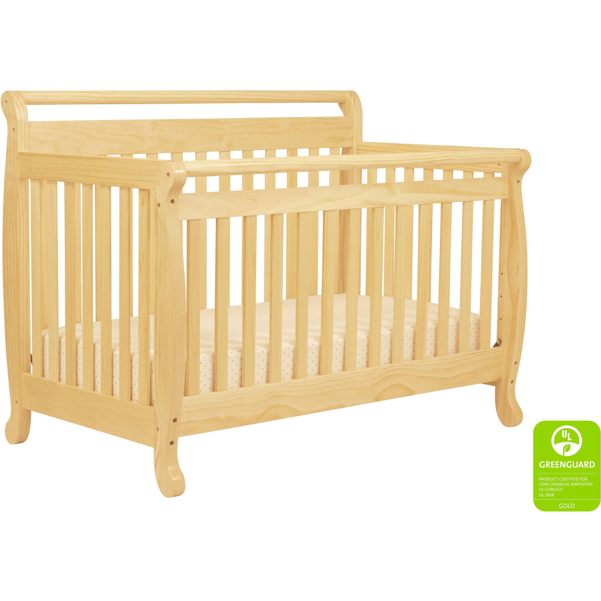 Davinci Emily 4 In 1 Fixed Side Convertible Crib Natural Walmart Com Walmart Com