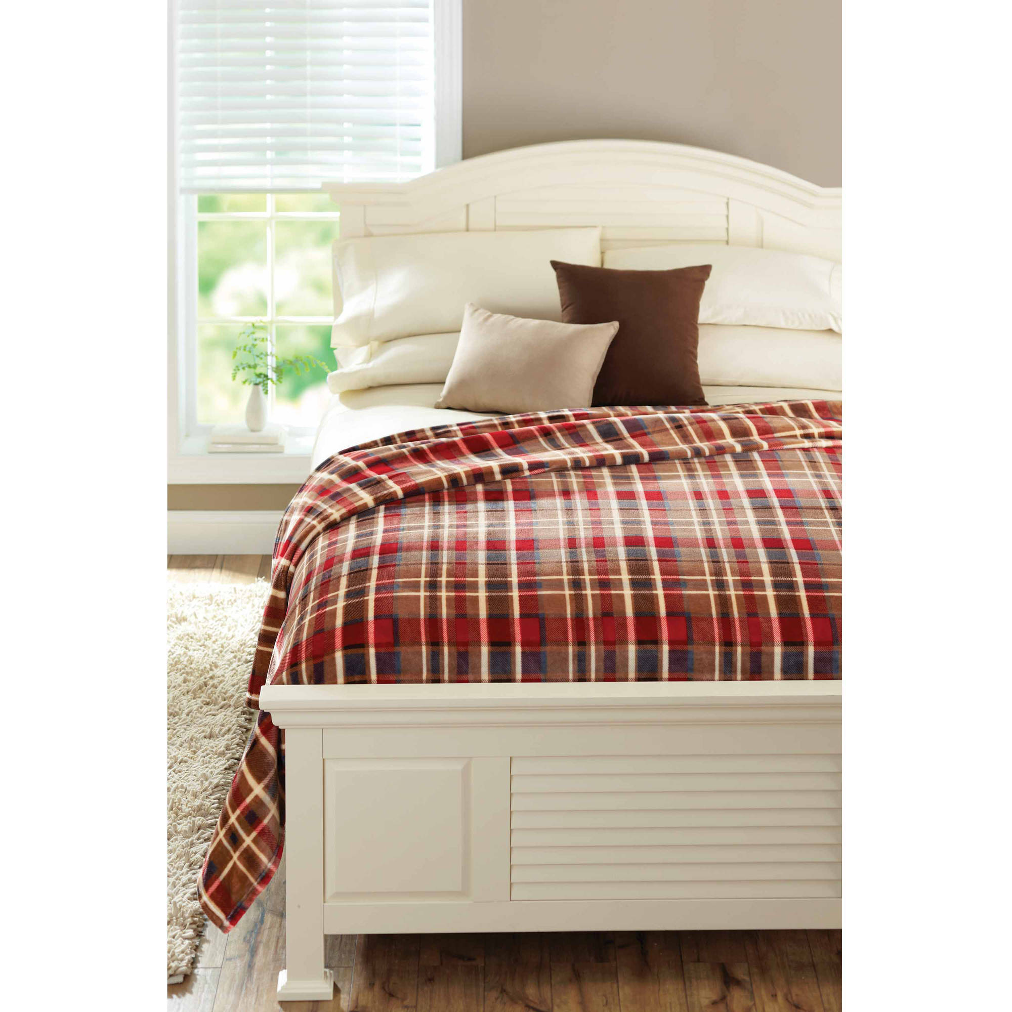 Better Homes and Gardens Royal Plush Blanket, Plaid