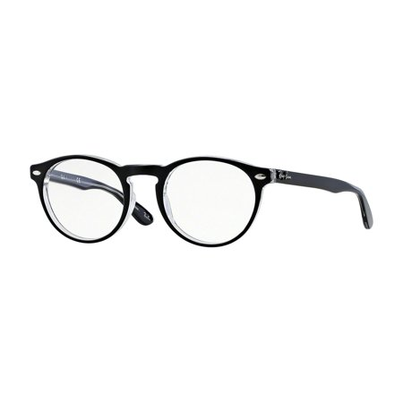 8efd150dd8 UPC 713132574669 product image for RAY BAN Eyeglasses RX 5285 2034 Black  Transparent 53MM