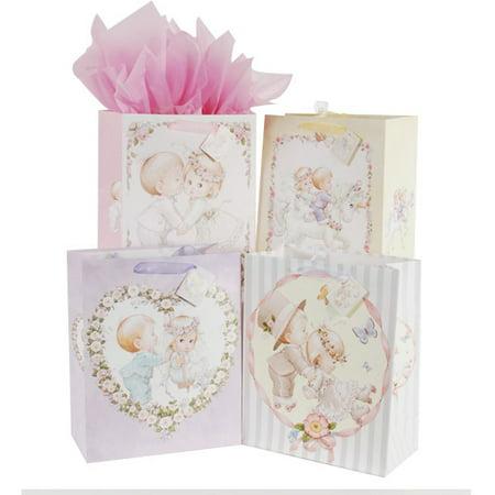 Flomo Medium Petite Moments Wedding Gift Bags Assorted Walmart