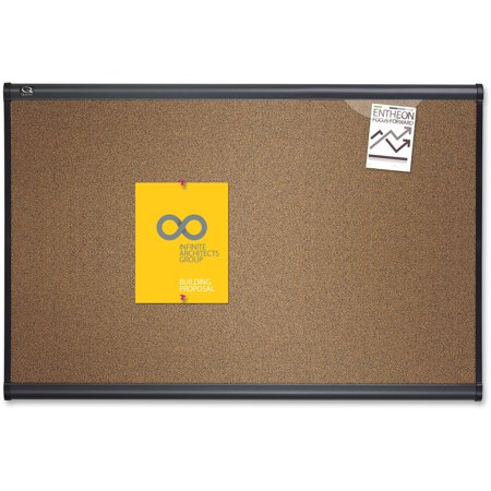 Quartet, QRTB243G, Prestige Colored Cork Bulletin Boards, 1 Each