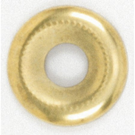 - Satco Beaded Steel Check Ring 1/8 IP Slip 1-1/8in Brass Plated
