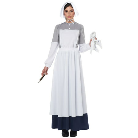 American Civil War Nurse Adult Costume - Civil War Nurse Uniform