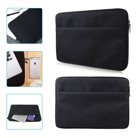 Padded Laptop Pouch - Soft Sleeve Case Bags Pouch Cover for 15